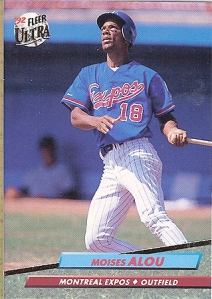 Moises broke out for a 121 OPS+ in 1992.