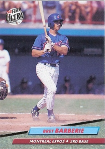 Bret only had an 83 OPS+ in 1992.