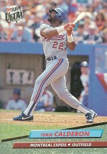 Calderon had a 111 OPS+ in 1992.