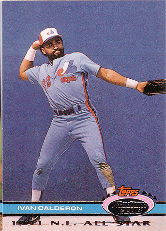 Calderon had a 139 OPS+ in 1991. What a weird picture.