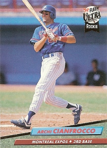Cianfrocco had a combined 84 OPS+ for Montreal and San Diego in 1992.
