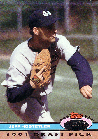 Hostetler went 3-4 with a 6.83 ERA in 1991. He never made it out of A Ball.