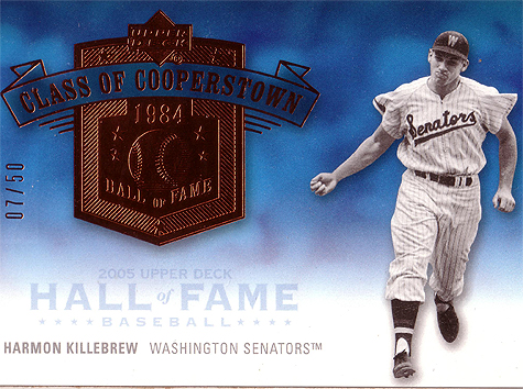 2005 Upper Deck Hall of Fame Class of Cooperstown