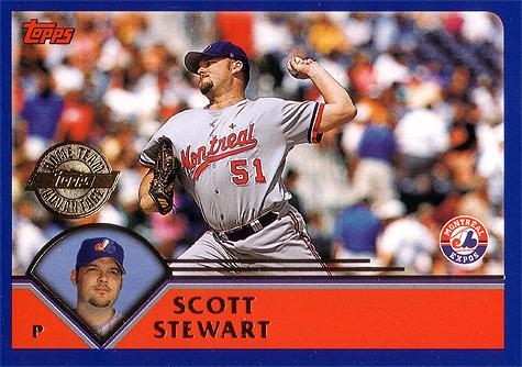 Stewart had a 113 ERA+ in 2003.