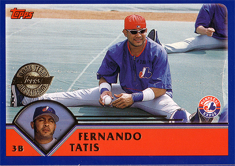 Tatis had a lowly 41 OPS+ in 2003.