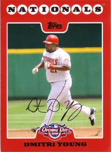 Dmitri Young 2008 Opening Day