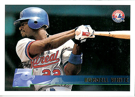 White had a 100 OPS+ in 1996.