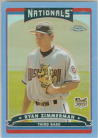 2006 Topps Chrome Blue